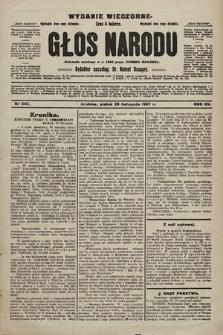 Głos Narodu : dziennik polityczny, założony w r. 1893 przez Józefa Rogosza (wydanie wieczorne). 1907, nr543