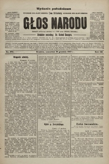 Głos Narodu : dziennik polityczny, założony w r. 1893 przez Józefa Rogosza (wydanie poranne). 1907, nr578