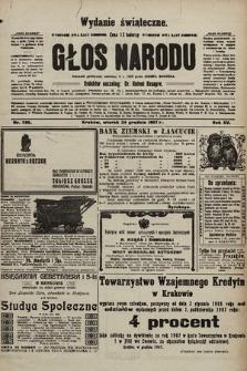 Głos Narodu : dziennik polityczny, założony w r. 1893 przez Józefa Rogosza (wydanie świąteczne). 1907, nr586