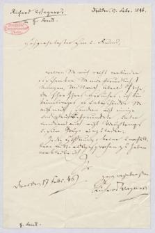 Autografy Ryszarda Wagnera i inne materiały z nim związane