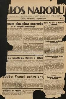 Głos Narodu. 1939, nr2