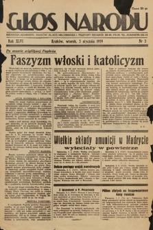 Głos Narodu. 1939, nr3