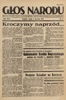 Głos Narodu. 1939, nr4