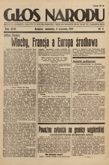 Głos Narodu. 1939, nr8