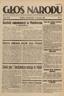 Głos Narodu. 1939, nr9