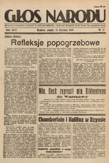 Głos Narodu. 1939, nr13