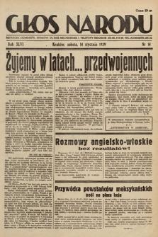 Głos Narodu. 1939, nr14