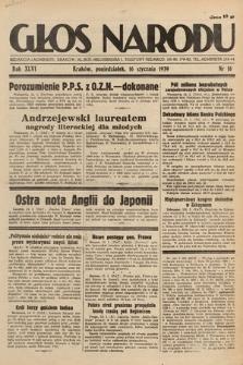 Głos Narodu. 1939, nr16