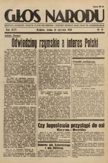 Głos Narodu. 1939, nr18