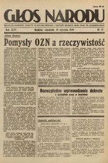 Głos Narodu. 1939, nr19