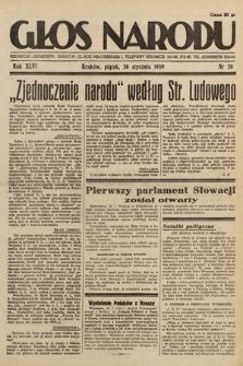 Głos Narodu. 1939, nr20