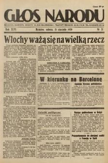Głos Narodu. 1939, nr21