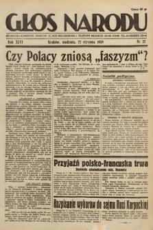 Głos Narodu. 1939, nr22