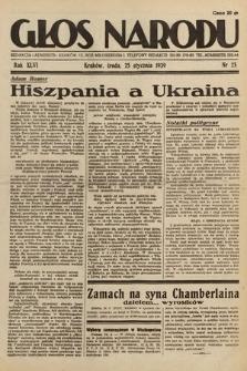 Głos Narodu. 1939, nr25