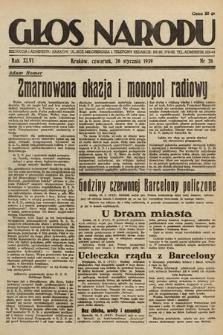 Głos Narodu. 1939, nr26