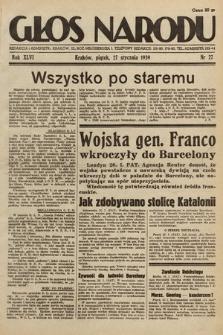 Głos Narodu. 1939, nr27