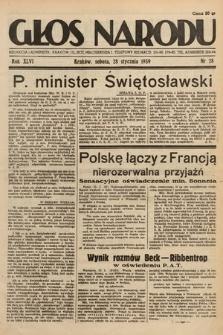 Głos Narodu. 1939, nr28