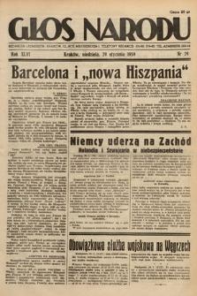 Głos Narodu. 1939, nr29