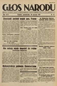 Głos Narodu. 1939, nr30
