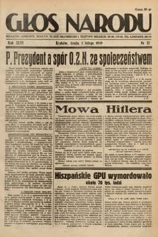 Głos Narodu. 1939, nr32