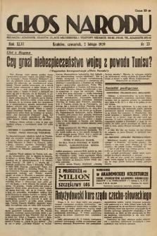 Głos Narodu. 1939, nr33