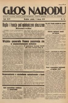 Głos Narodu. 1939, nr34
