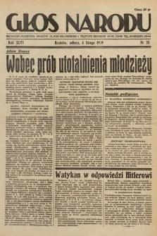 Głos Narodu. 1939, nr35