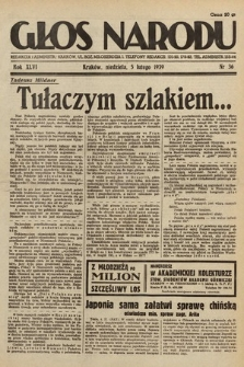 Głos Narodu. 1939, nr36