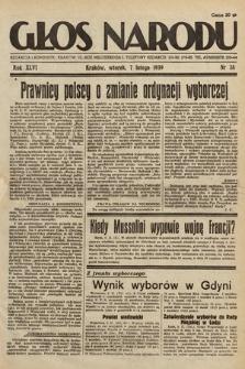 Głos Narodu. 1939, nr38