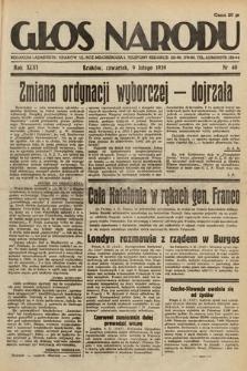 Głos Narodu. 1939, nr40