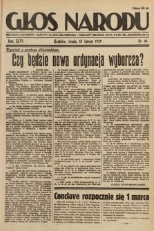 Głos Narodu. 1939, nr46