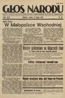 Głos Narodu. 1939, nr48