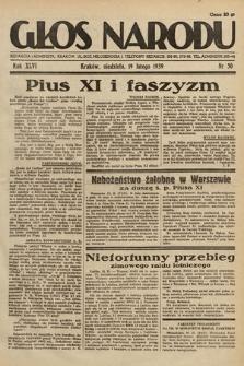 Głos Narodu. 1939, nr50