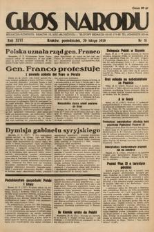 Głos Narodu. 1939, nr51