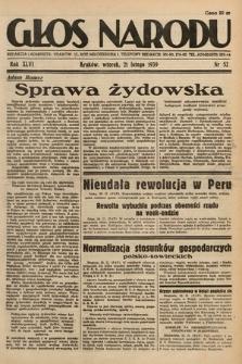 Głos Narodu. 1939, nr52