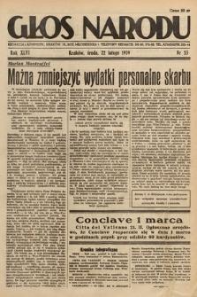 Głos Narodu. 1939, nr53