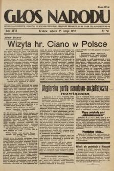 Głos Narodu. 1939, nr56