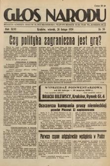 Głos Narodu. 1939, nr59