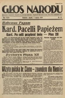 Głos Narodu. 1939, nr62