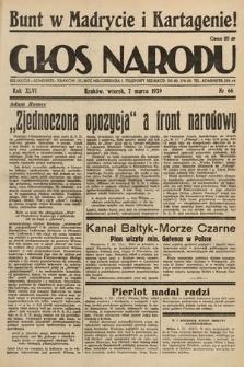 Głos Narodu. 1939, nr66