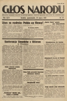 Głos Narodu. 1939, nr79