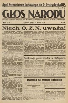 Głos Narodu. 1939, nr81