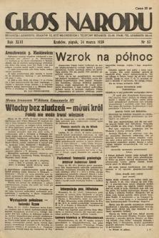 Głos Narodu. 1939, nr83