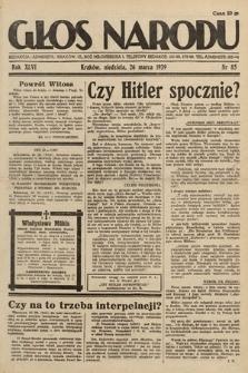 Głos Narodu. 1939, nr85