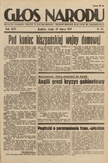 Głos Narodu. 1939, nr88