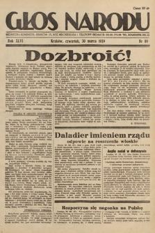 Głos Narodu. 1939, nr89