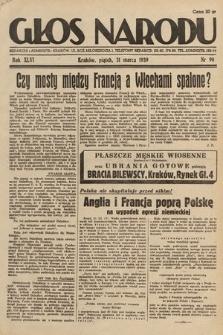 Głos Narodu. 1939, nr90