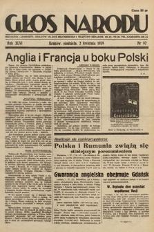 Głos Narodu. 1939, nr92