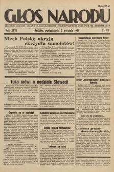 Głos Narodu. 1939, nr93