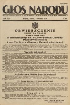 Głos Narodu. 1939, nr94